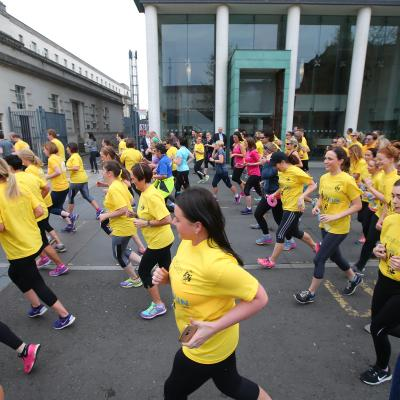 Legal Walk Helps Raise Funds For Marie Curie Northern Ireland